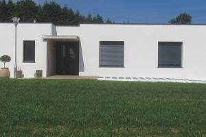 menuiserie-alu-gris-maison neuve